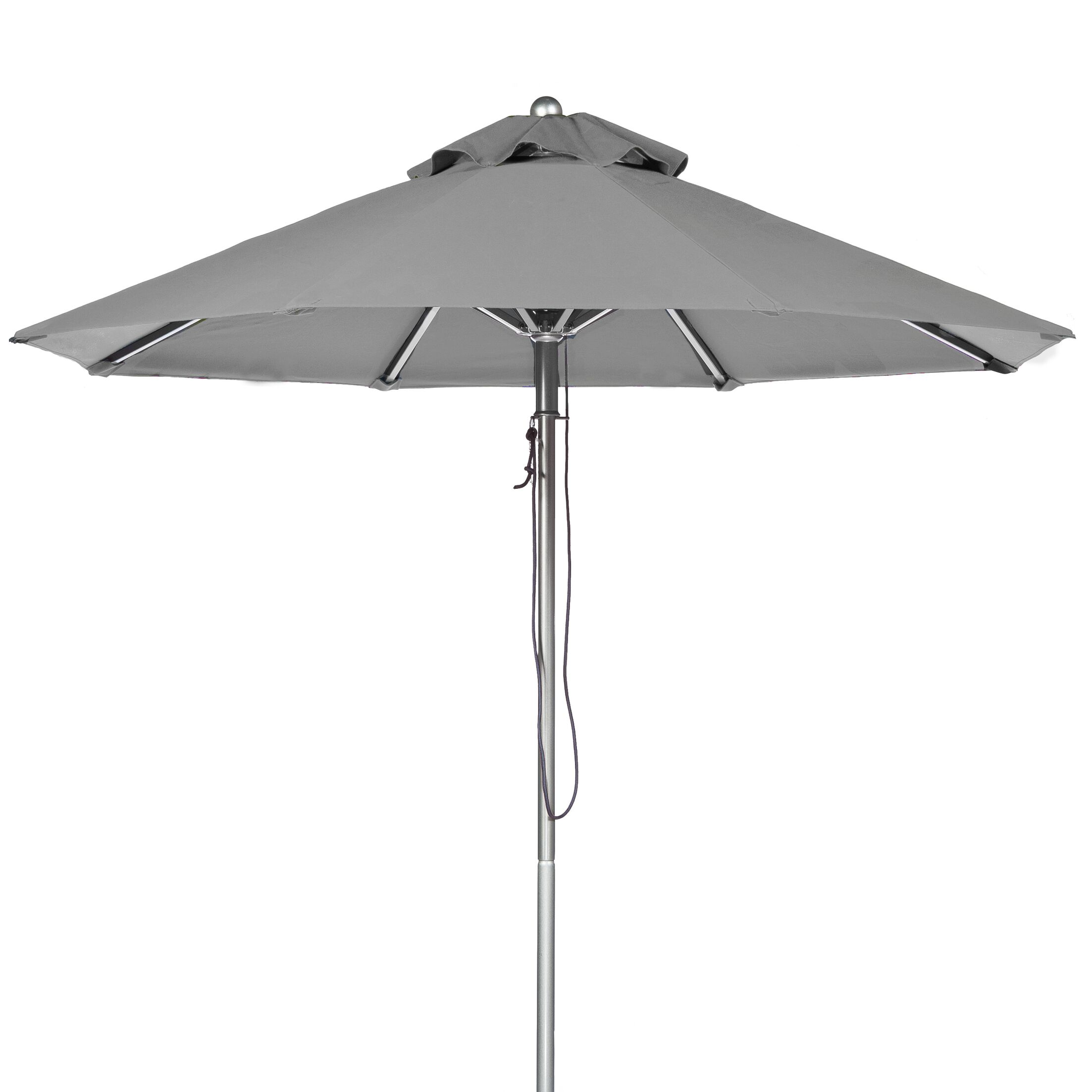 11' Market Umbrella Fabric: Cadet Gray