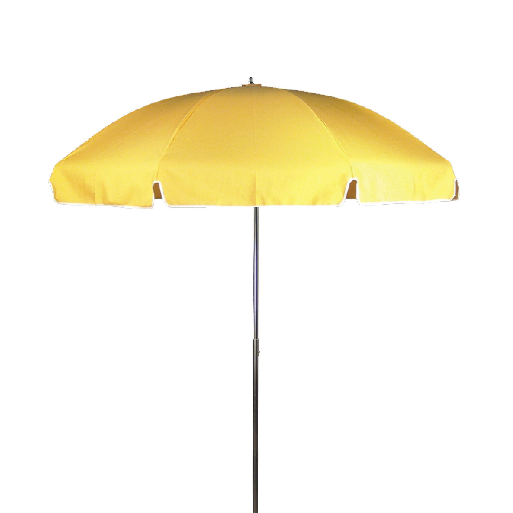 7.5' Drape Umbrella Fabric: Sunflower Yellow