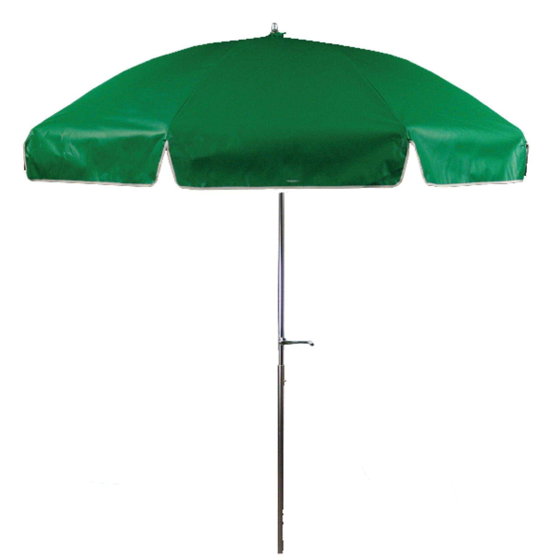 7.5' Beach Umbrella Fabric: Kelly Green