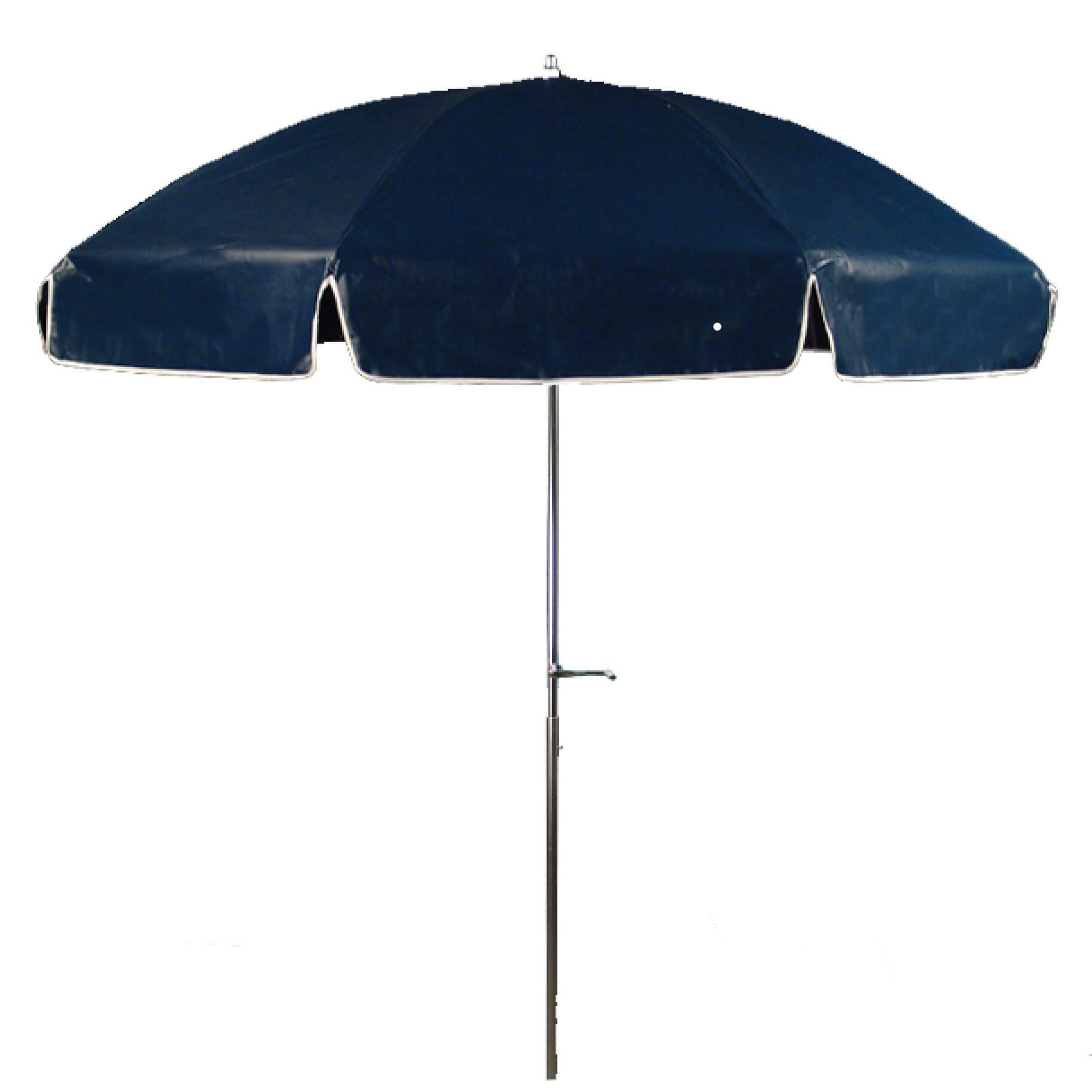 7.5' Beach Umbrella Fabric: Navy Blue