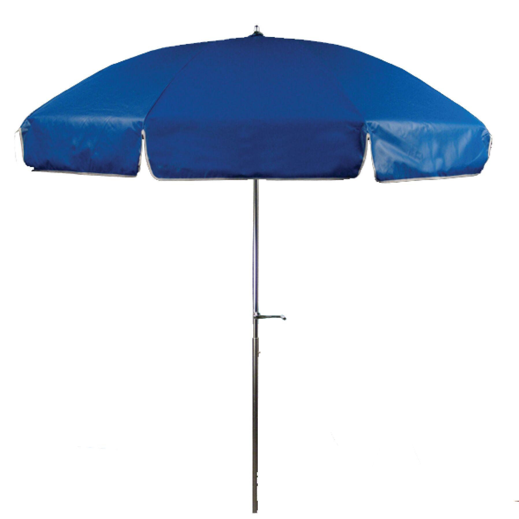 7.5' Beach Umbrella Fabric: Royal Blue