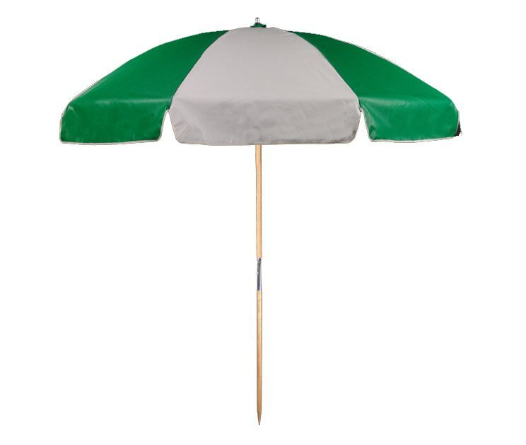 7.5' Beach Umbrella Color: Kelly and White