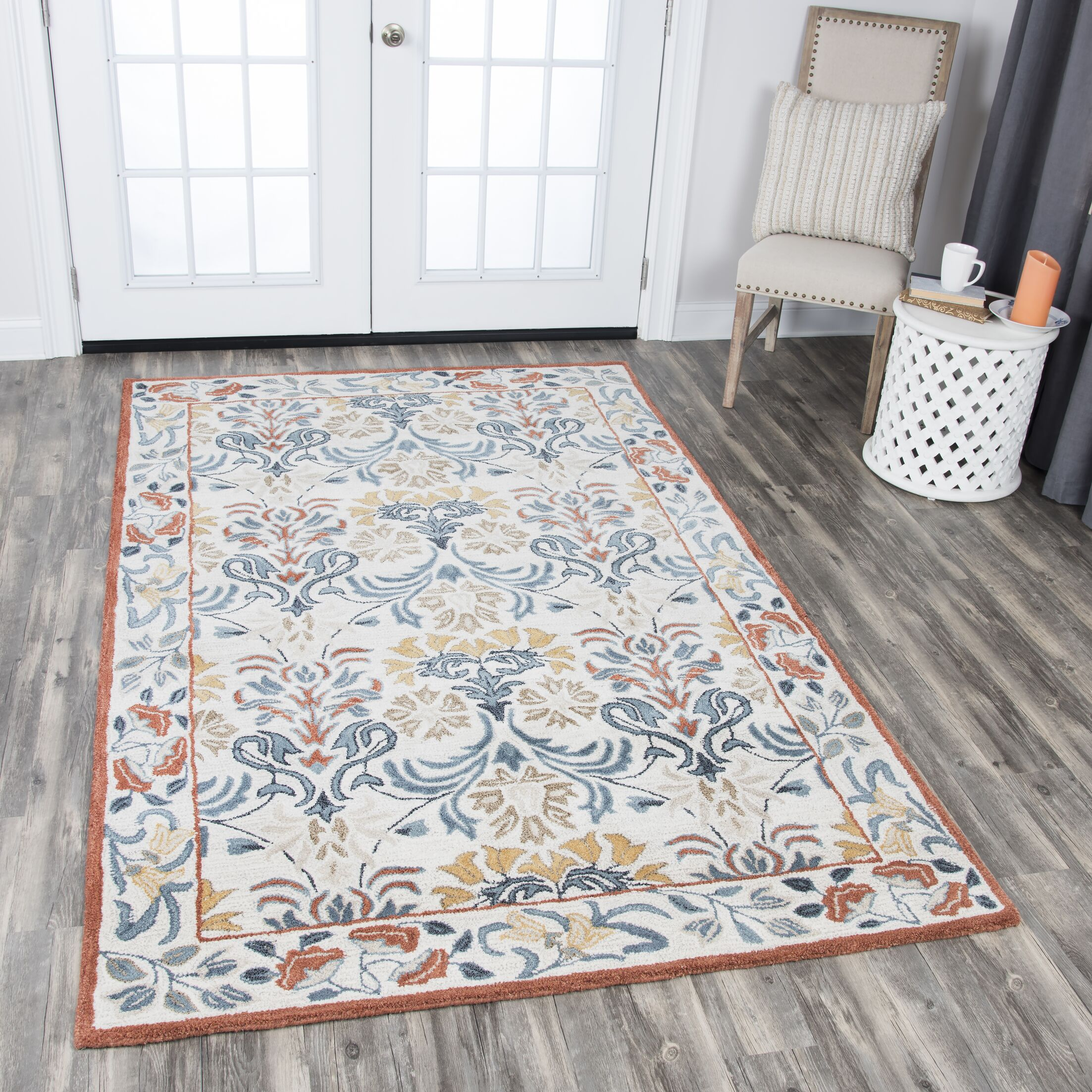 Nordmeyer Hand-Tufted Natural Area Rug Rug Size: Rectangle 2'6