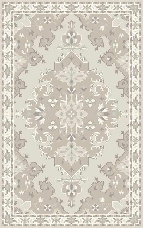 Landrienne Hand-Tufted Tan Area Rug Rug Size: Rectangle 8' x 10'