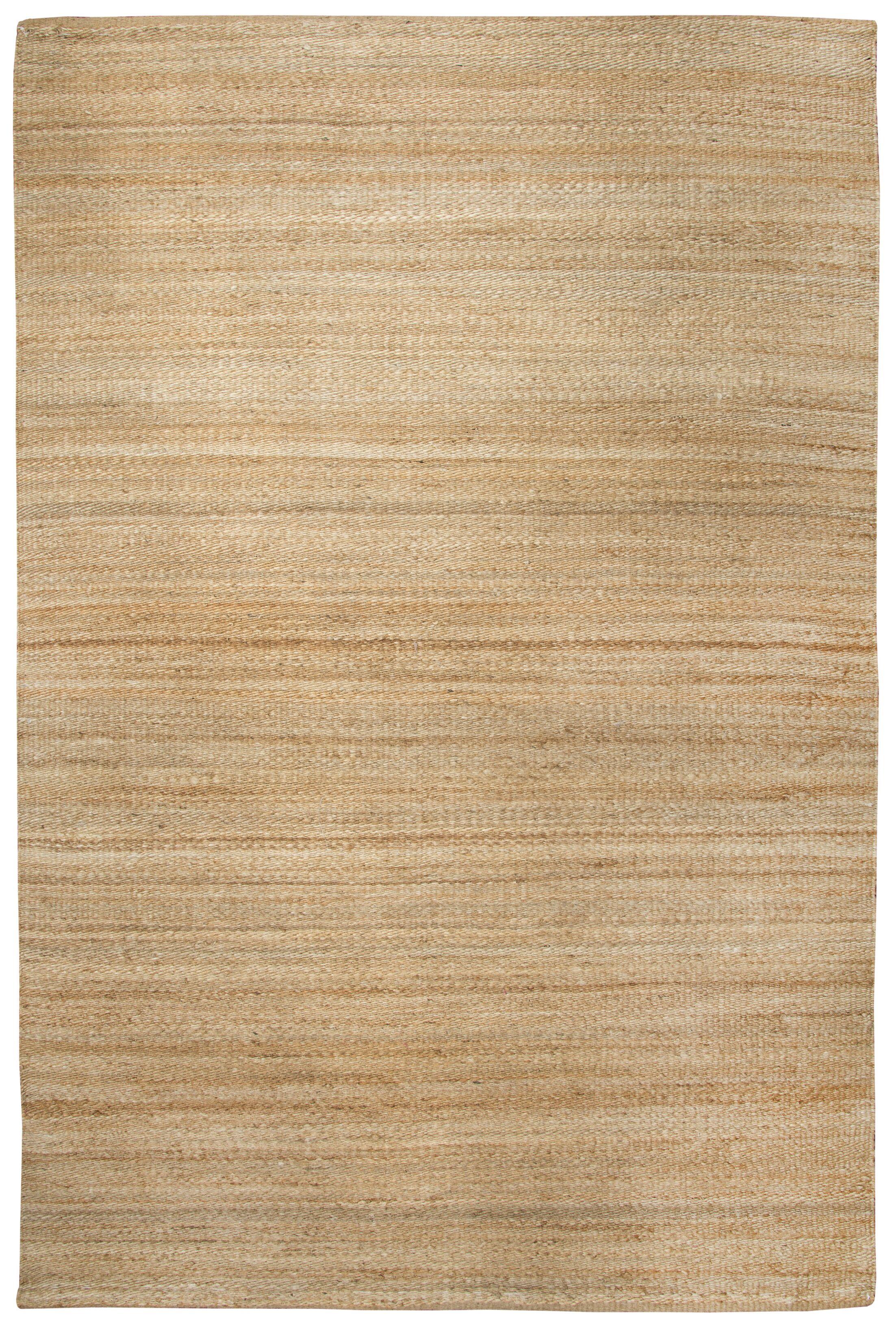 Dalveen Hand Woven Natural Area Rug Rug Size: Rectangle 5' x 7'