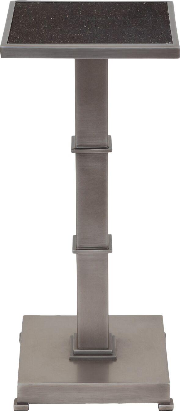 Blake End Table Color: Gunmetal