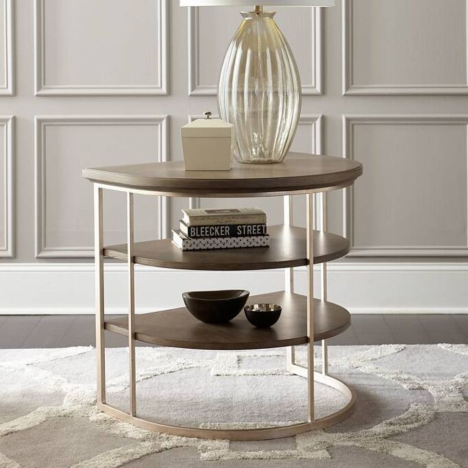 Virage End Table Color: Basalt