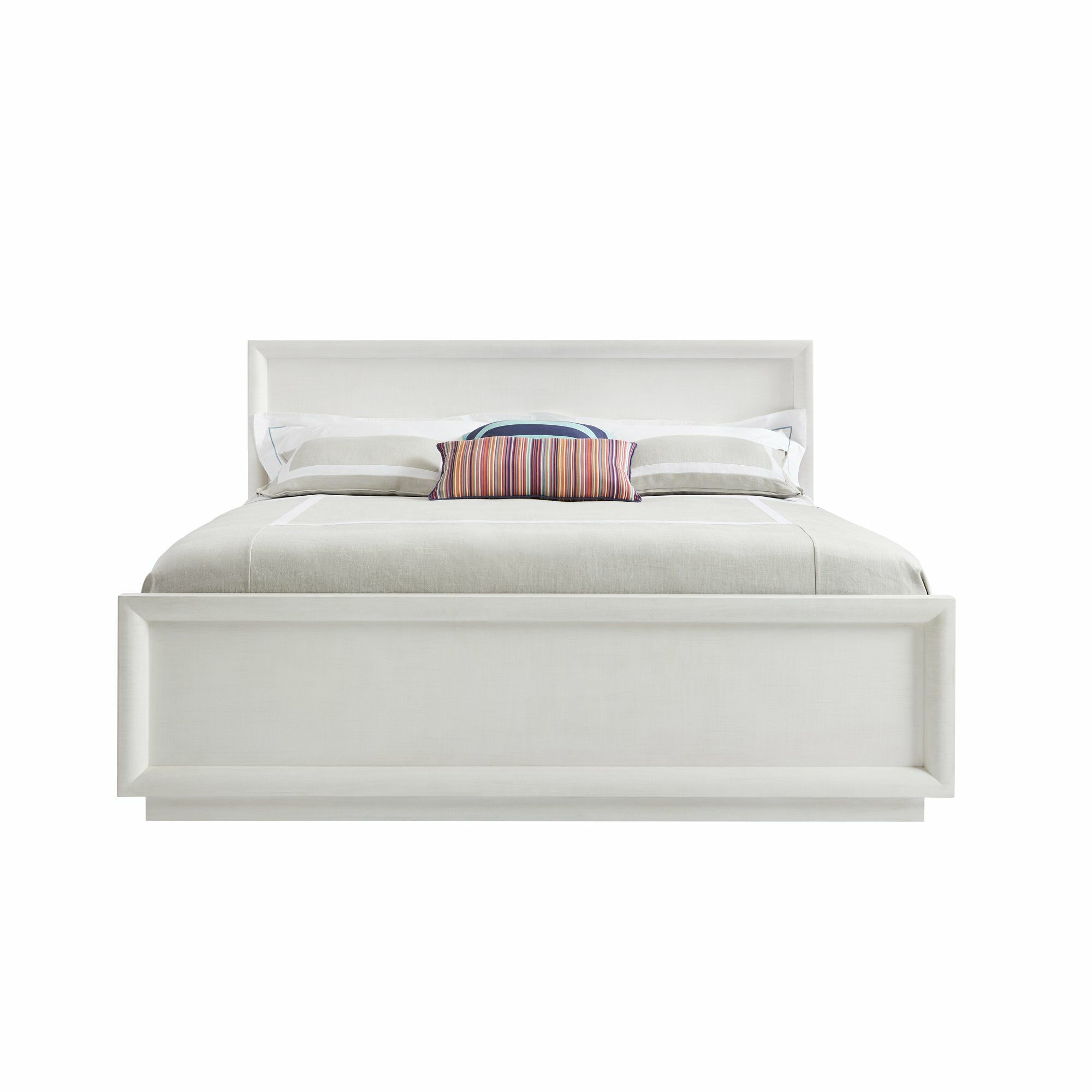 Panavista Panel Bed Size: California King, Color: Alabaster