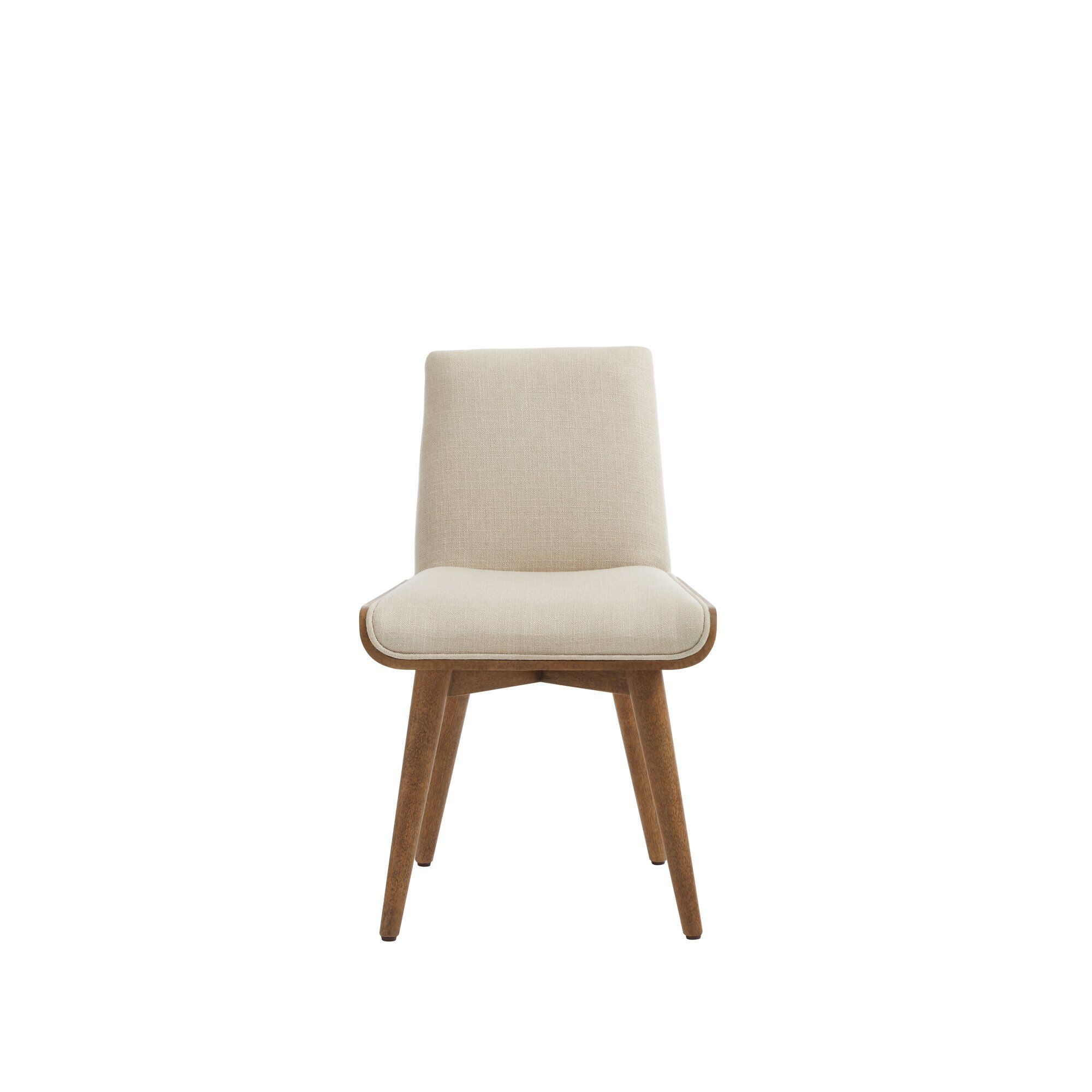 Park Upholstered Dining Chair Finish: Sunflower Seed