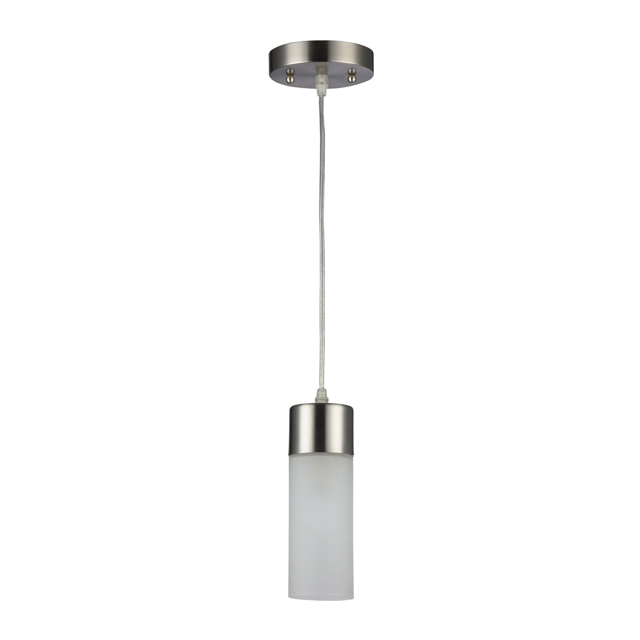 Whitaker 1-Light Cylinder Pendant