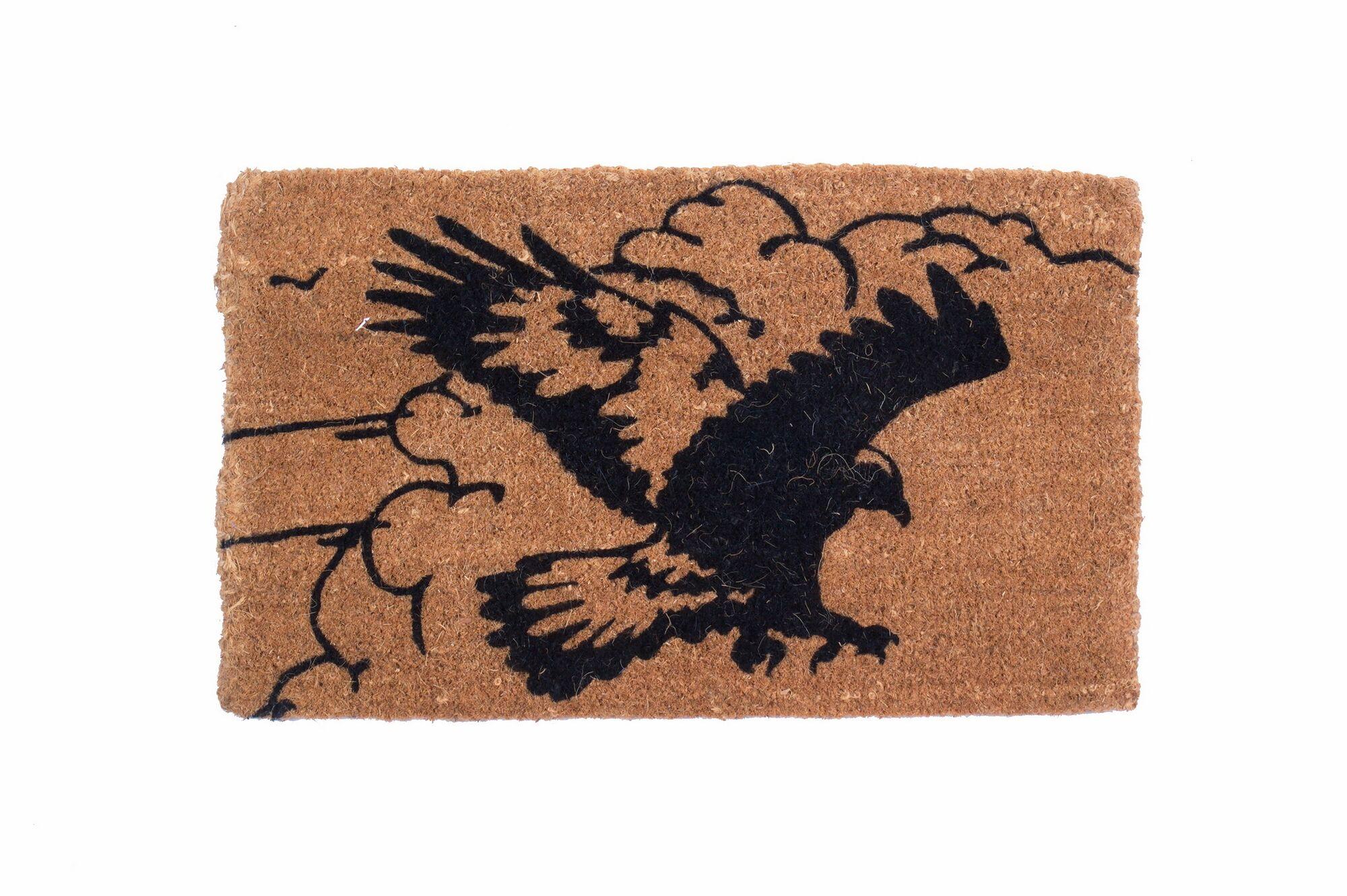 Pouncing Eagle Doormat