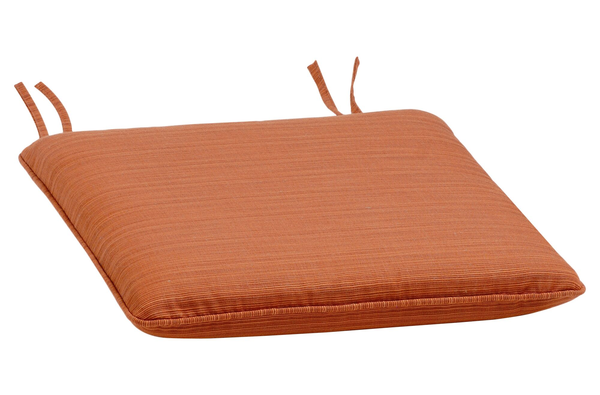 Harpersfield Indoor/Outdoor Dining Chair Cushion Color: Dupione Papaya