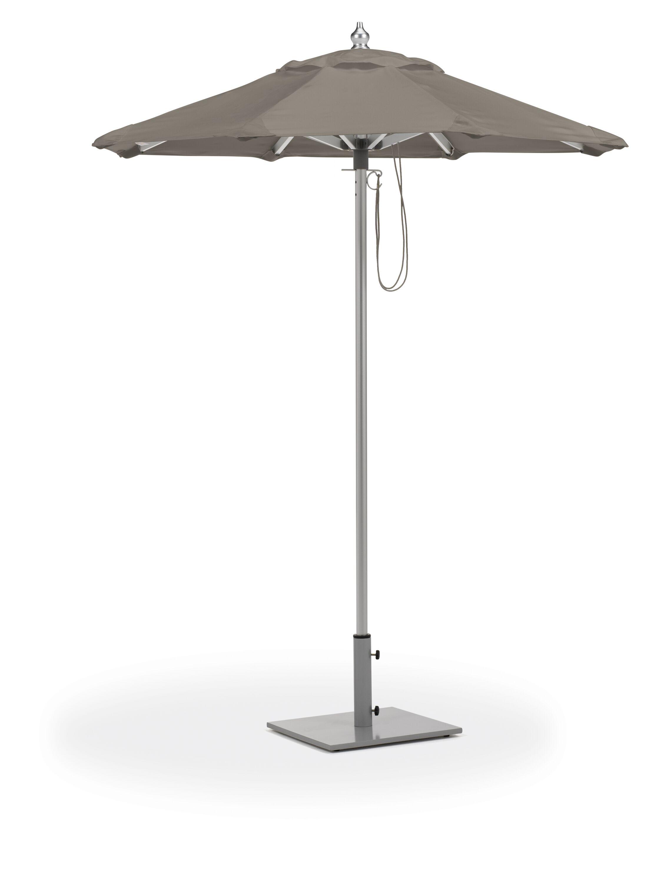 Stambaugh 6' Market Umbrella Fabric: Canvas Taupe