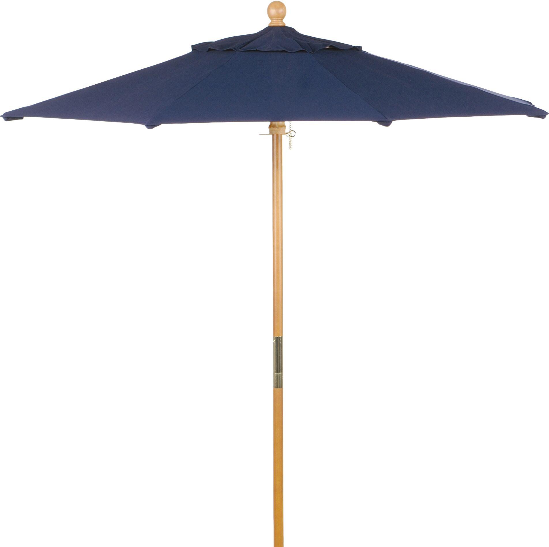 Starcher 6' Market Umbrella Fabric: Navy