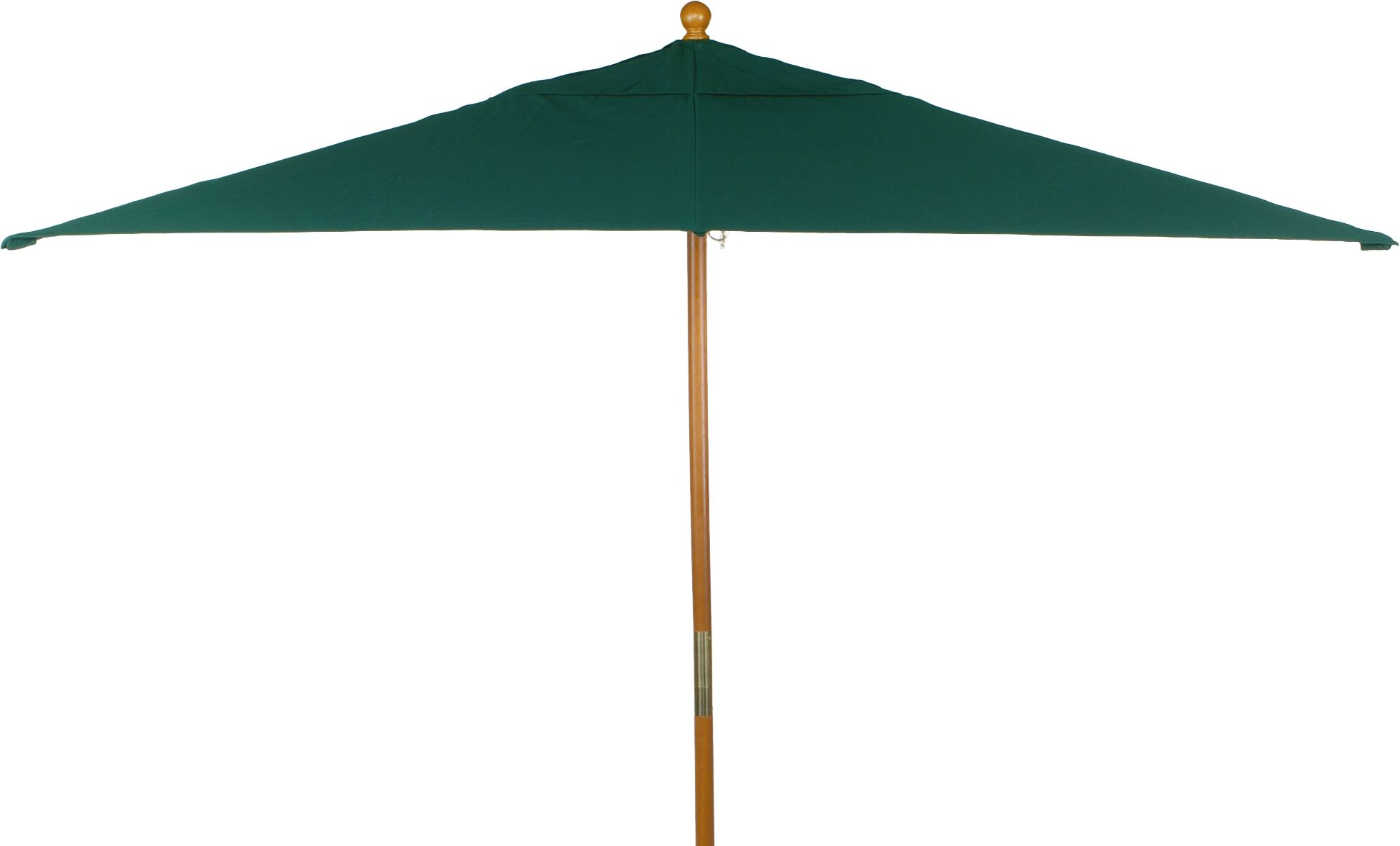 Harpersfield 10' X 6' Rectangular Market Umbrella Fabric: Hunter