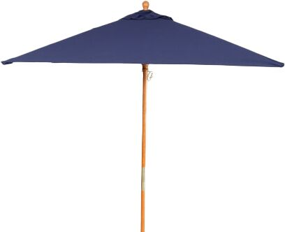 6' Oxford Square Market Umbrella Fabric: Navy
