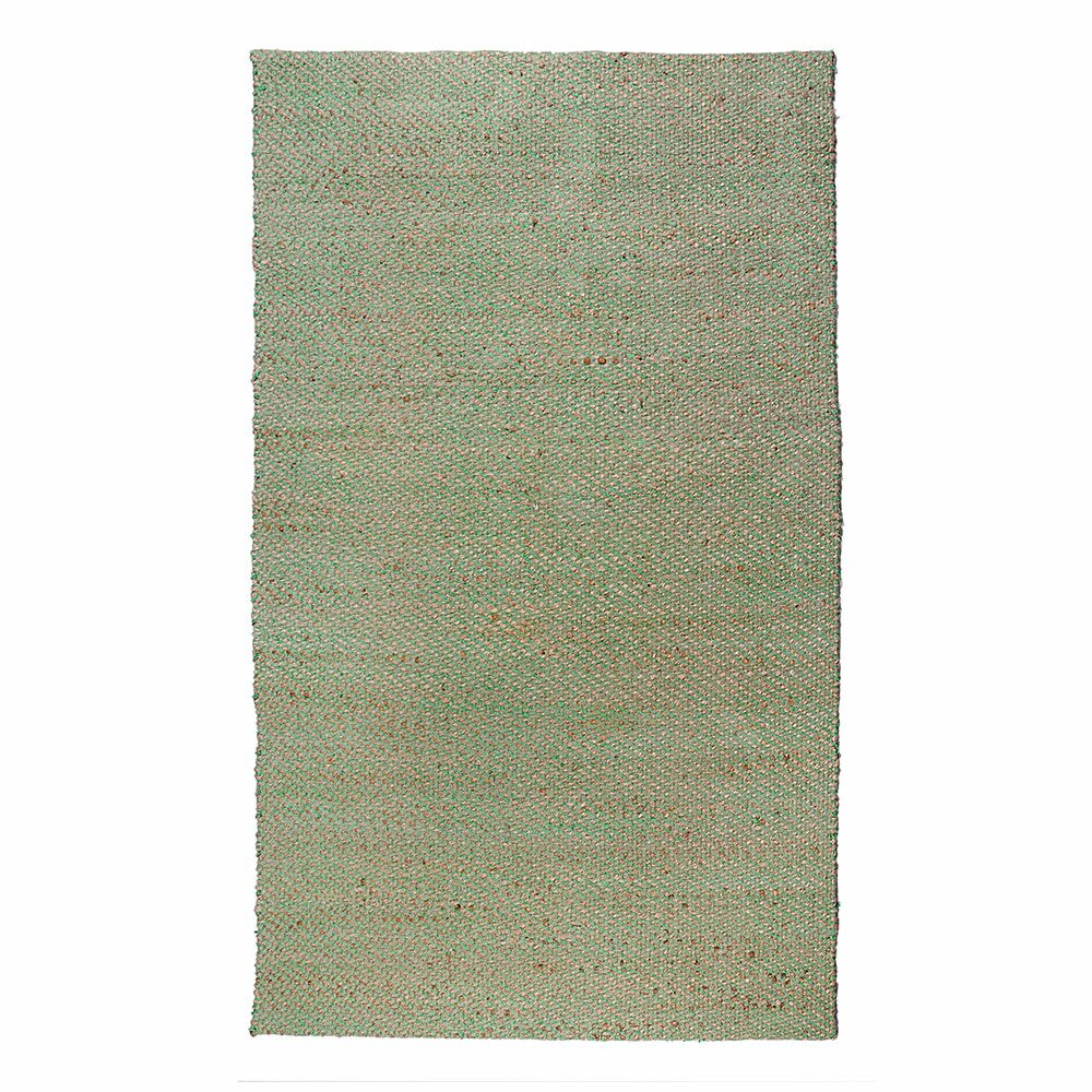 Crossfire Green Area Rug Rug Size: 5' x 8'