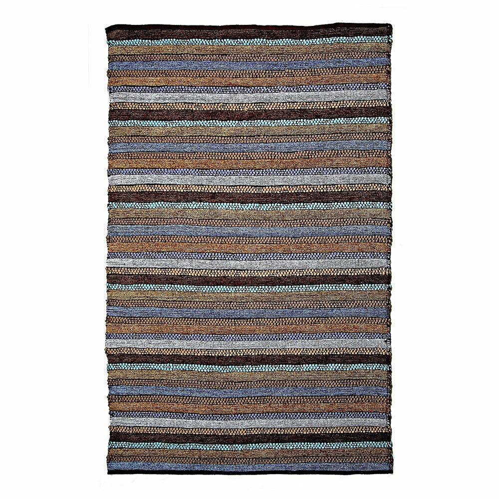 Dante Blue Area Rug Rug Size: 4' x 5'10
