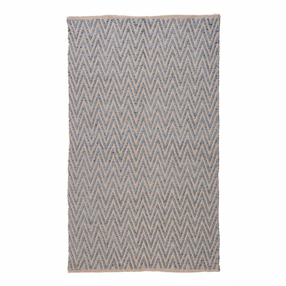 Ziggy Steel/Gray Area Rug Rug Size: 5' x 8'