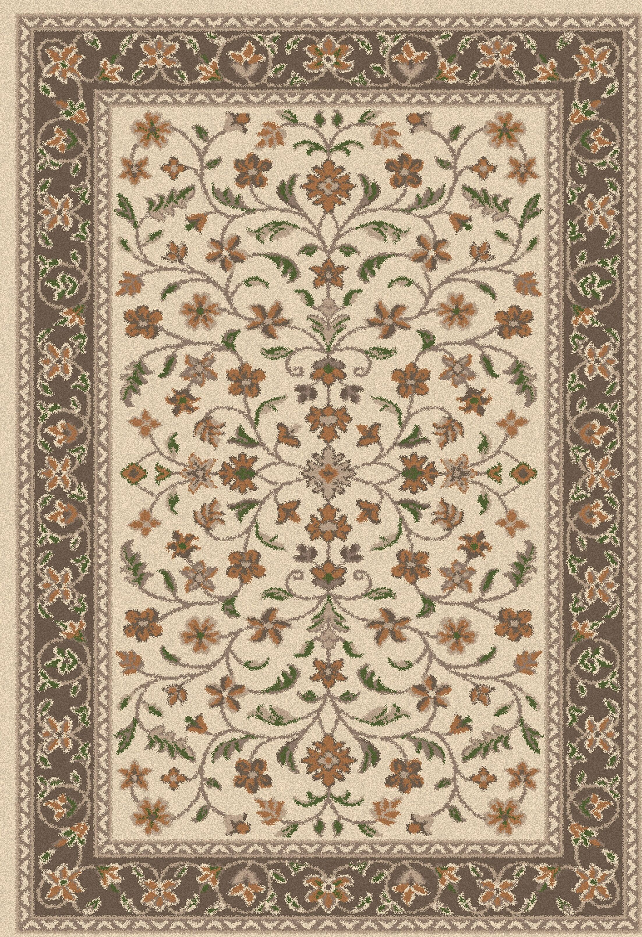 Wellington Isfahan Earth Rug Rug Size: 5' x 7'