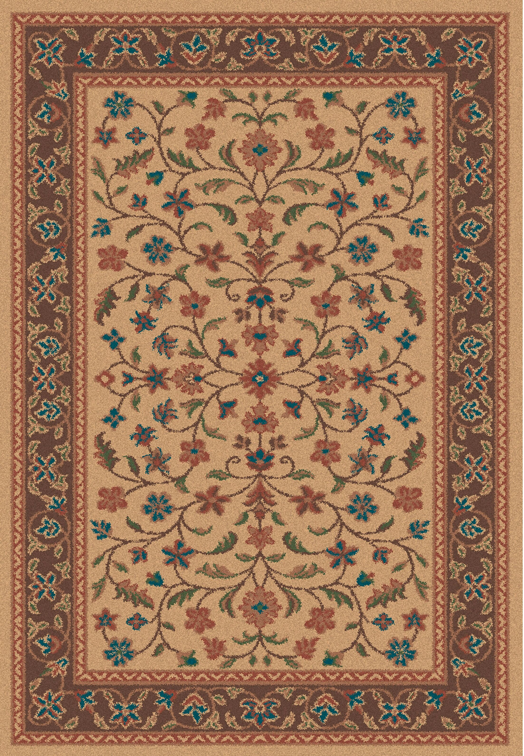 Wellington Isfahan Stone Rug Rug Size: 5' x 7'