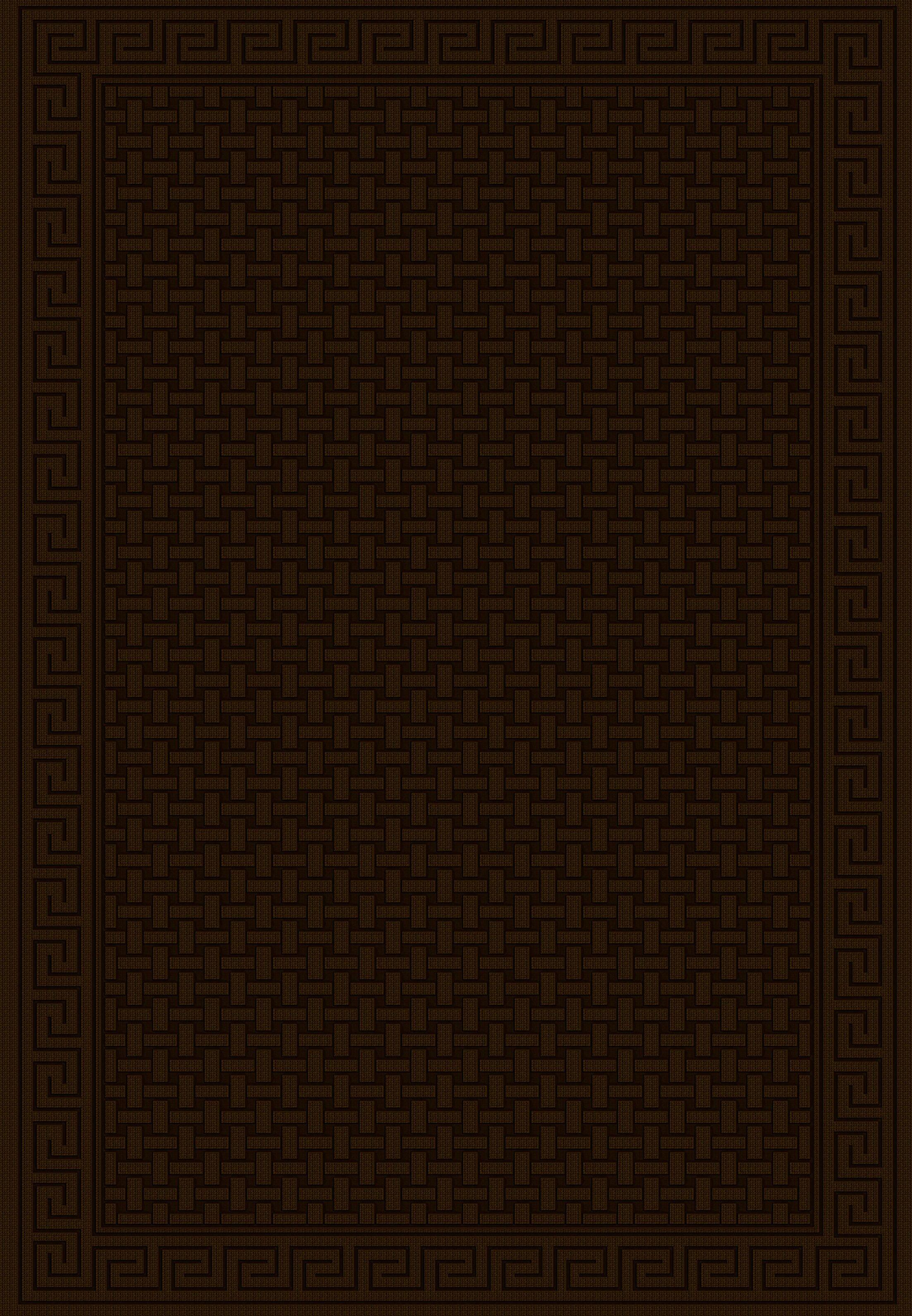 Cheshire Chocolate Babylon Area Rug Rug Size: Runner 2'2