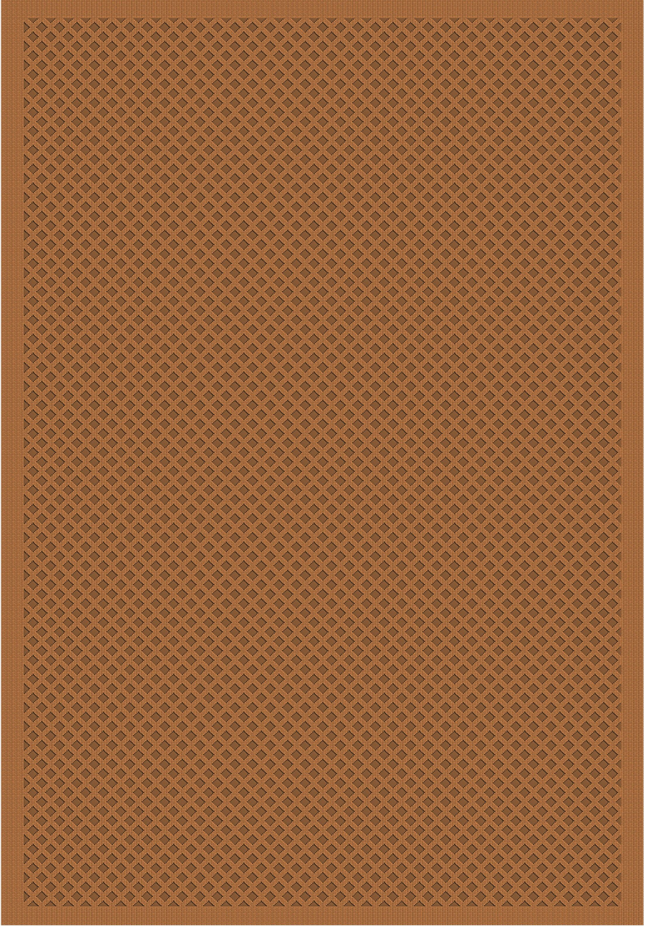 Cheshire Trellis Nutmeg Rug Rug Size: 8' x 10'