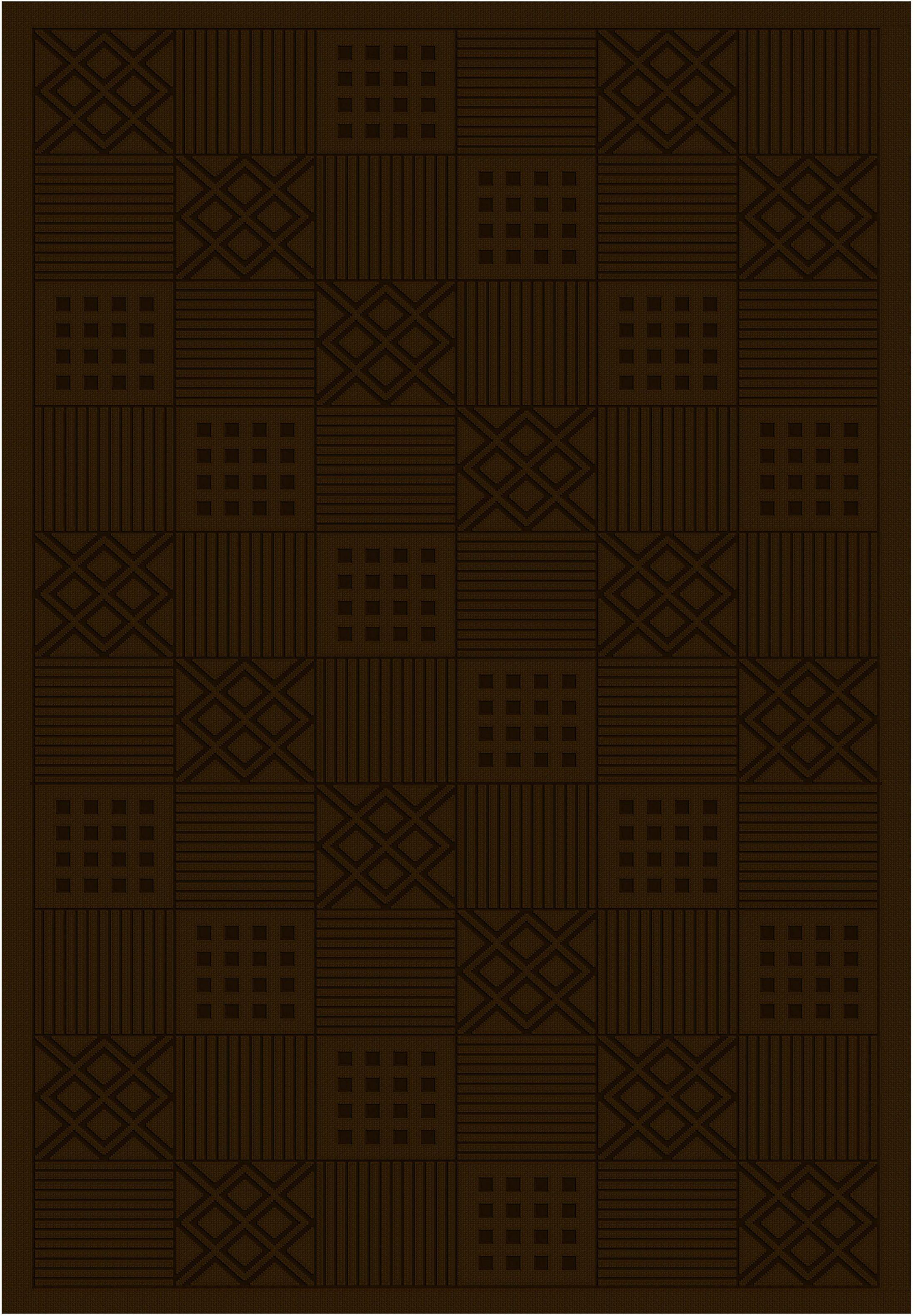 Cheshire Modelama Chocolate Rug Rug Size: Runner 2'2