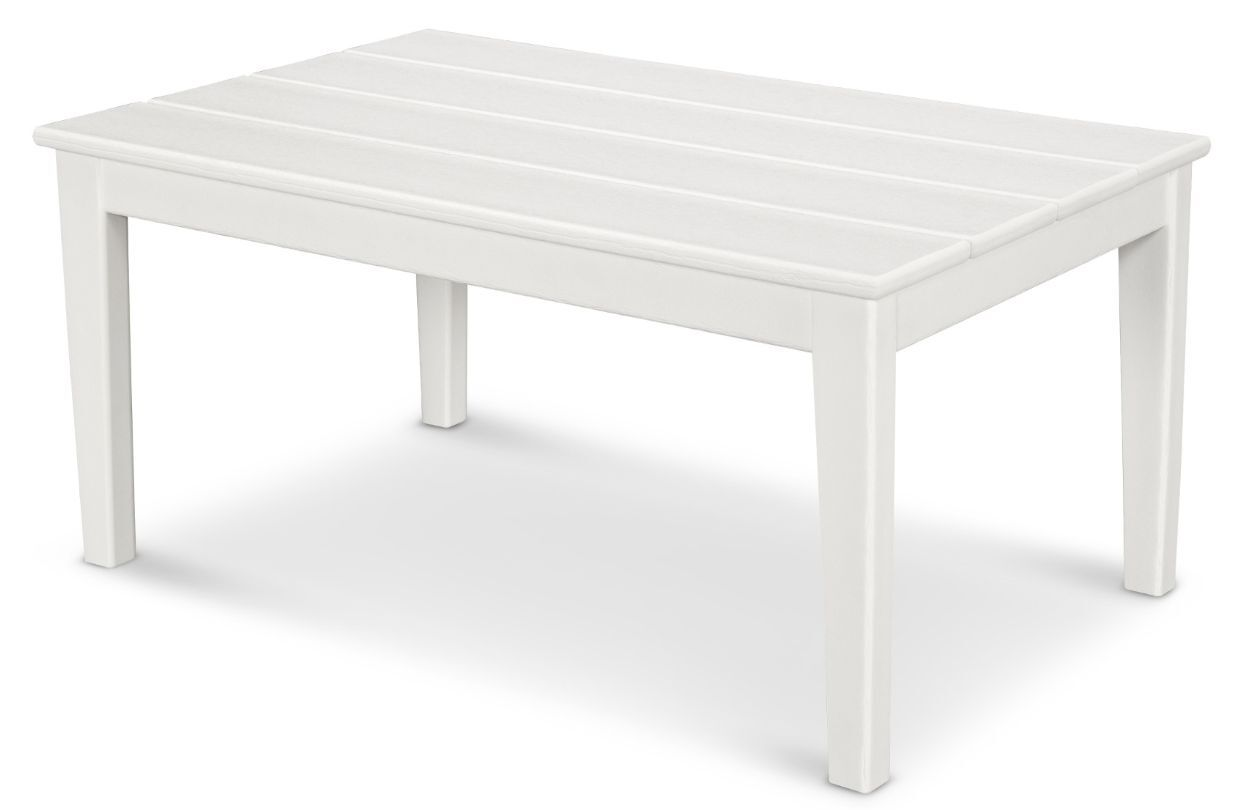 Newport Coffee Table Finish: White