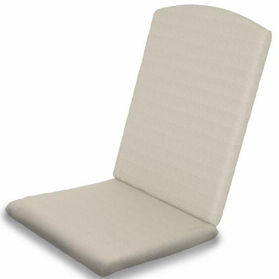 Indoor/Outdoor Sunbrella Dining Chair Cushion Fabric: Bird's Eye