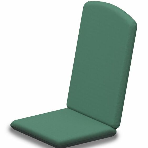 Indoor/Outdoor Sunbrella Dining Chair Cushion Fabric: Spa