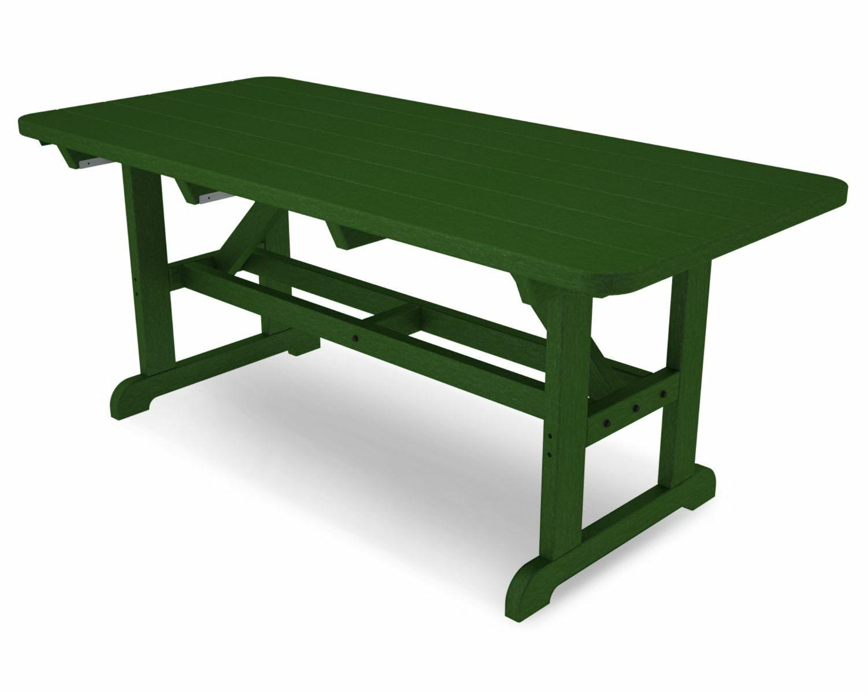 Park Picnic Table Finish: Green