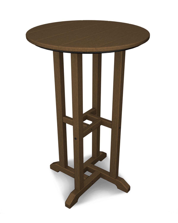 Traditional Bar Table Finish: Teak