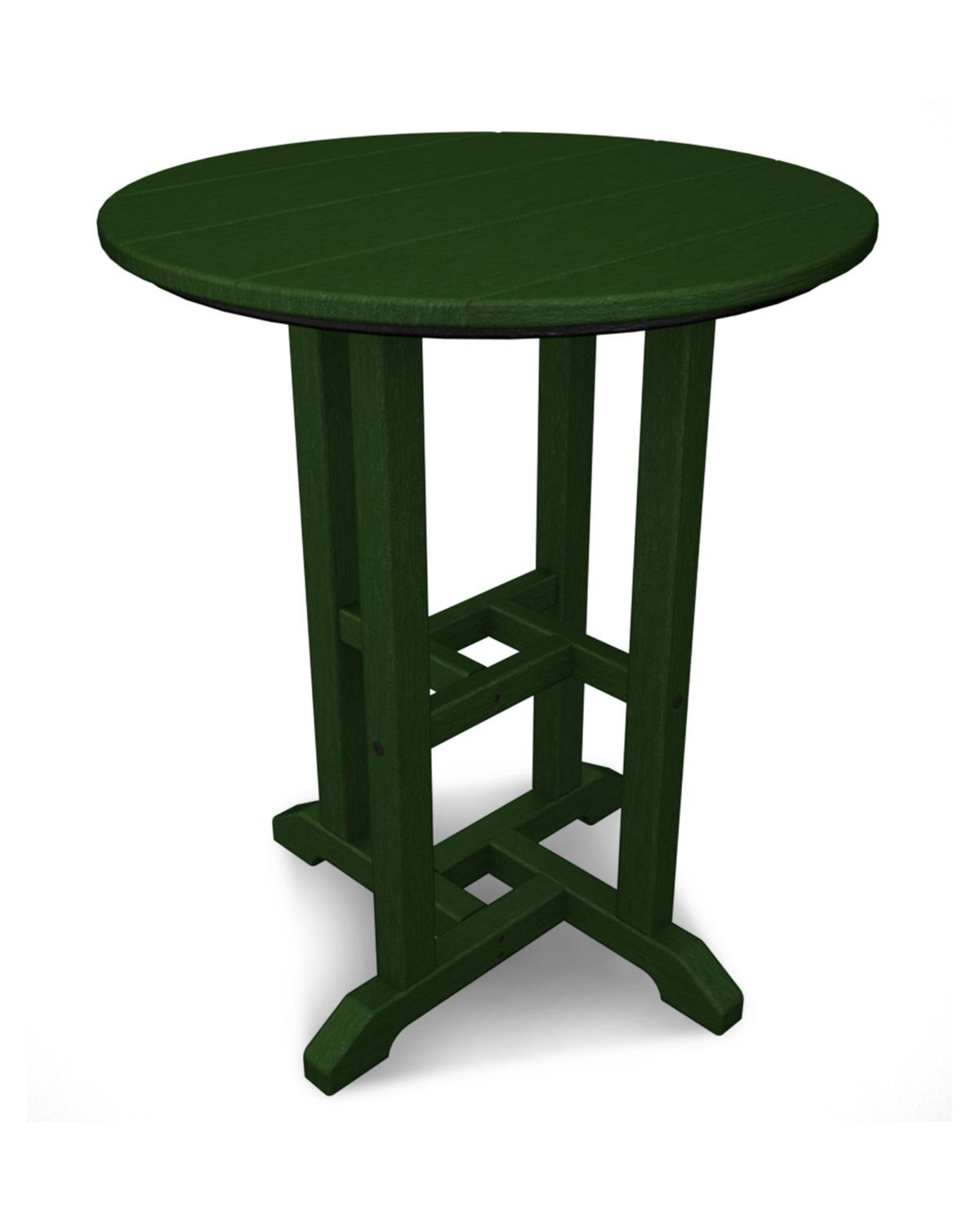 Traditional Dining Table Finish: Green