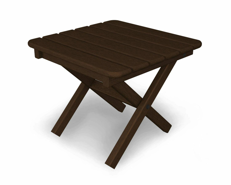 Bistro Table Table Finish: Mahogany