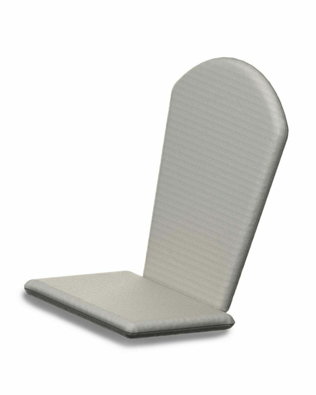 Indoor/Outdoor Sunbrella Adirondack Chair Cushion Fabric: Bird's Eye