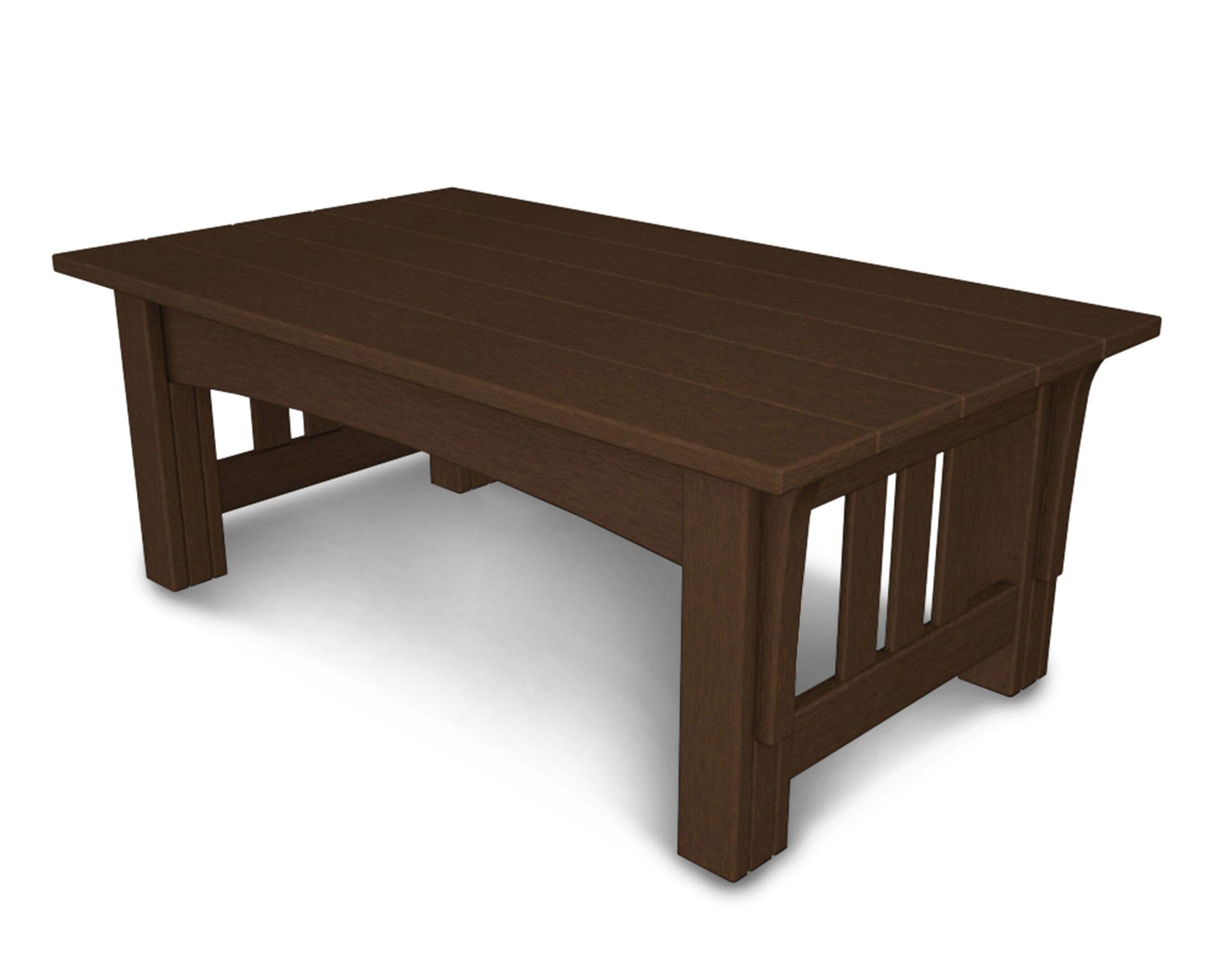 Mission Coffee Table Finish: Mahogany