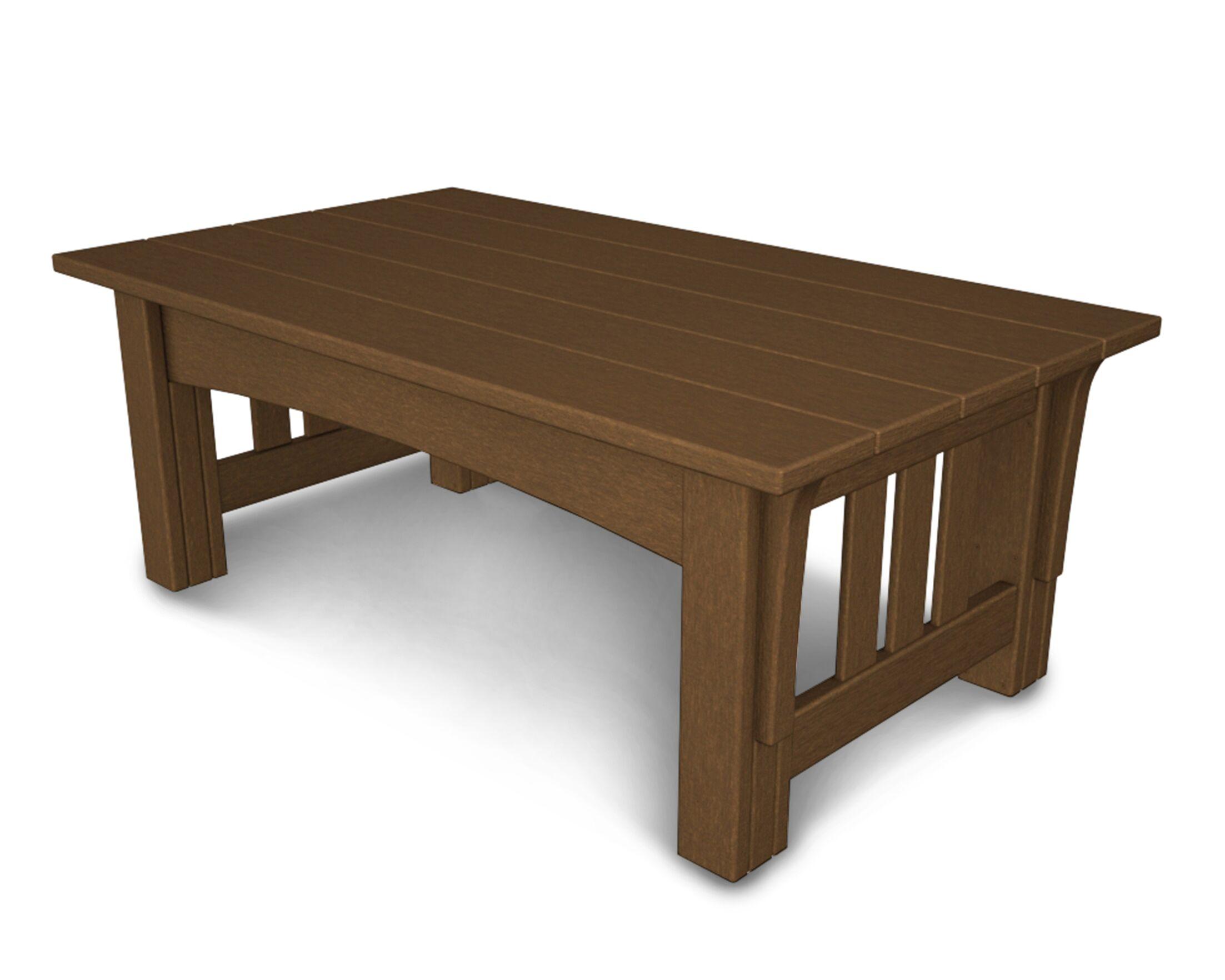 Mission Coffee Table Finish: Teak