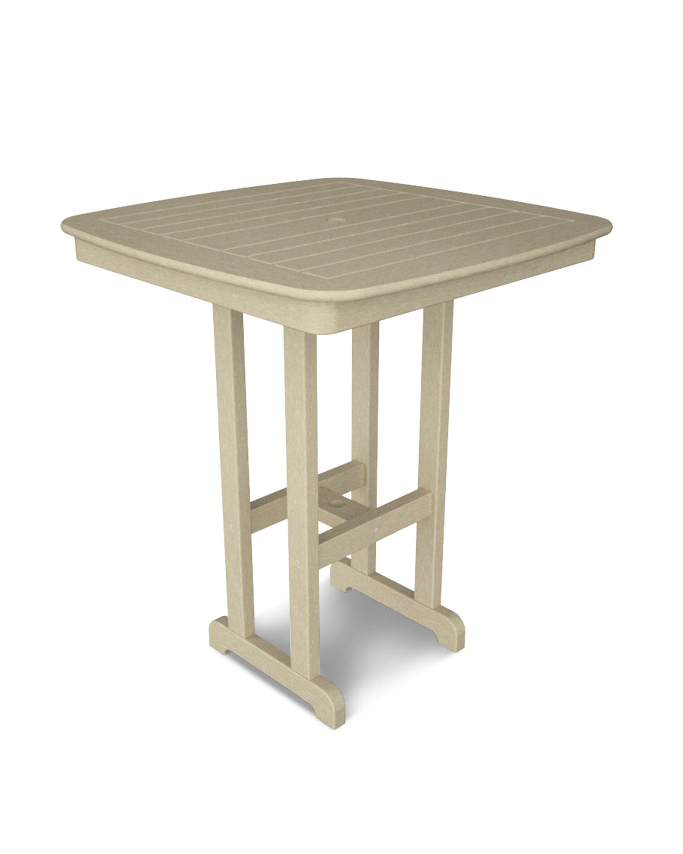 Nautical Bar Table Finish: Sand