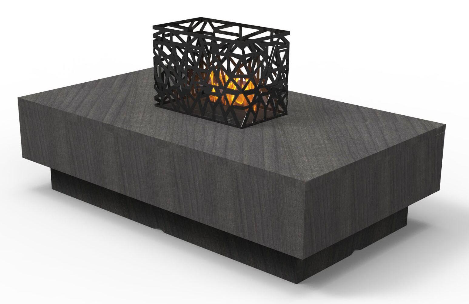Indoor Furniture Coffee Table Color: Tuxedo