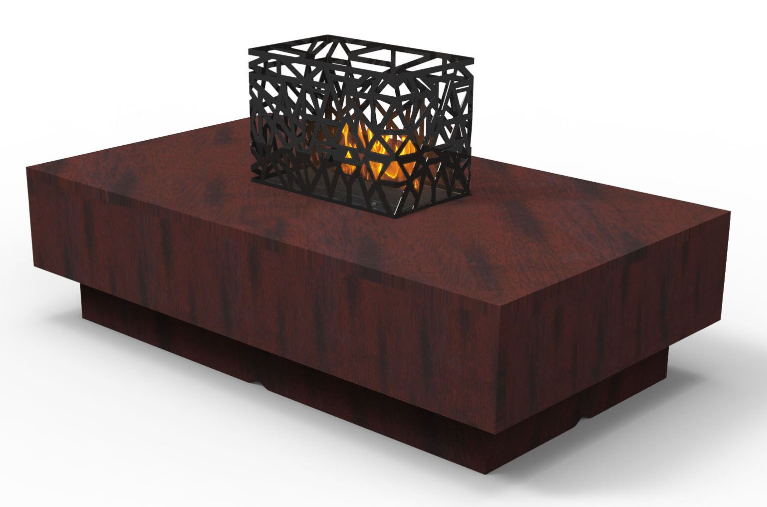 Indoor Furniture Coffee Table Color: Mahogany Impressions