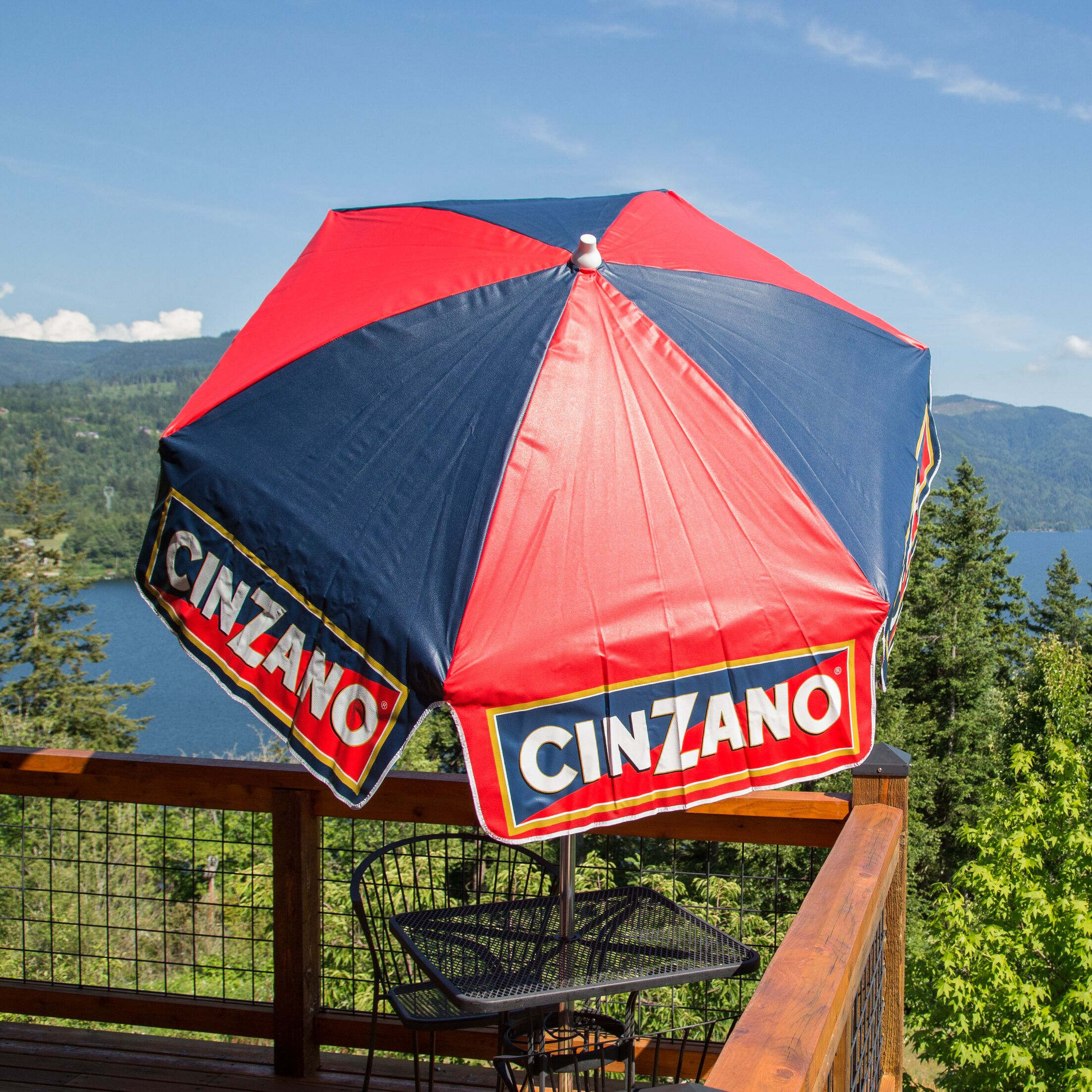 Cinzano 6' Drape Umbrella