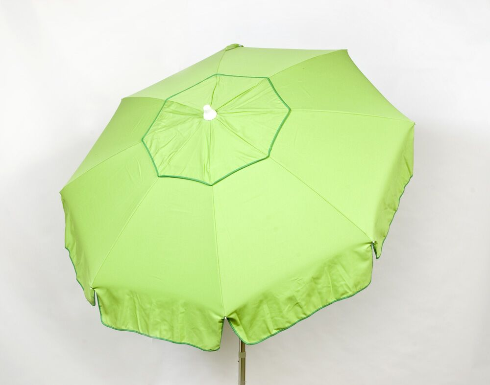 Italian 6' Drape Umbrella Fabric: Lime