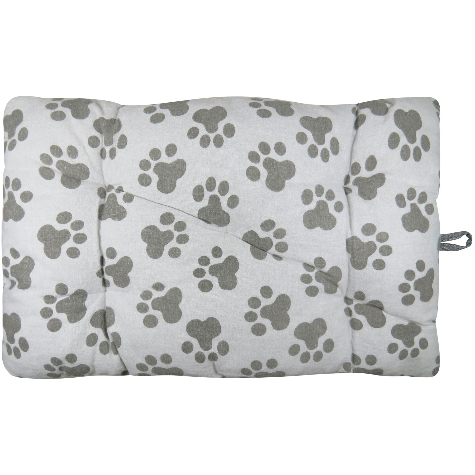 Metro Farmhouse World Paws Crate Futon Mat Color: Linen, Size: 36