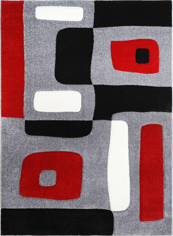 Berner Blocks Area Rug Rug Size: Rectangle 7'8