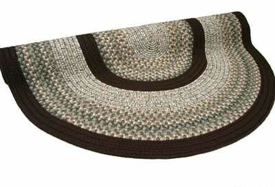Beantown Baked Beans Round Tan/Brown Area Rug Rug Size: Round 6'