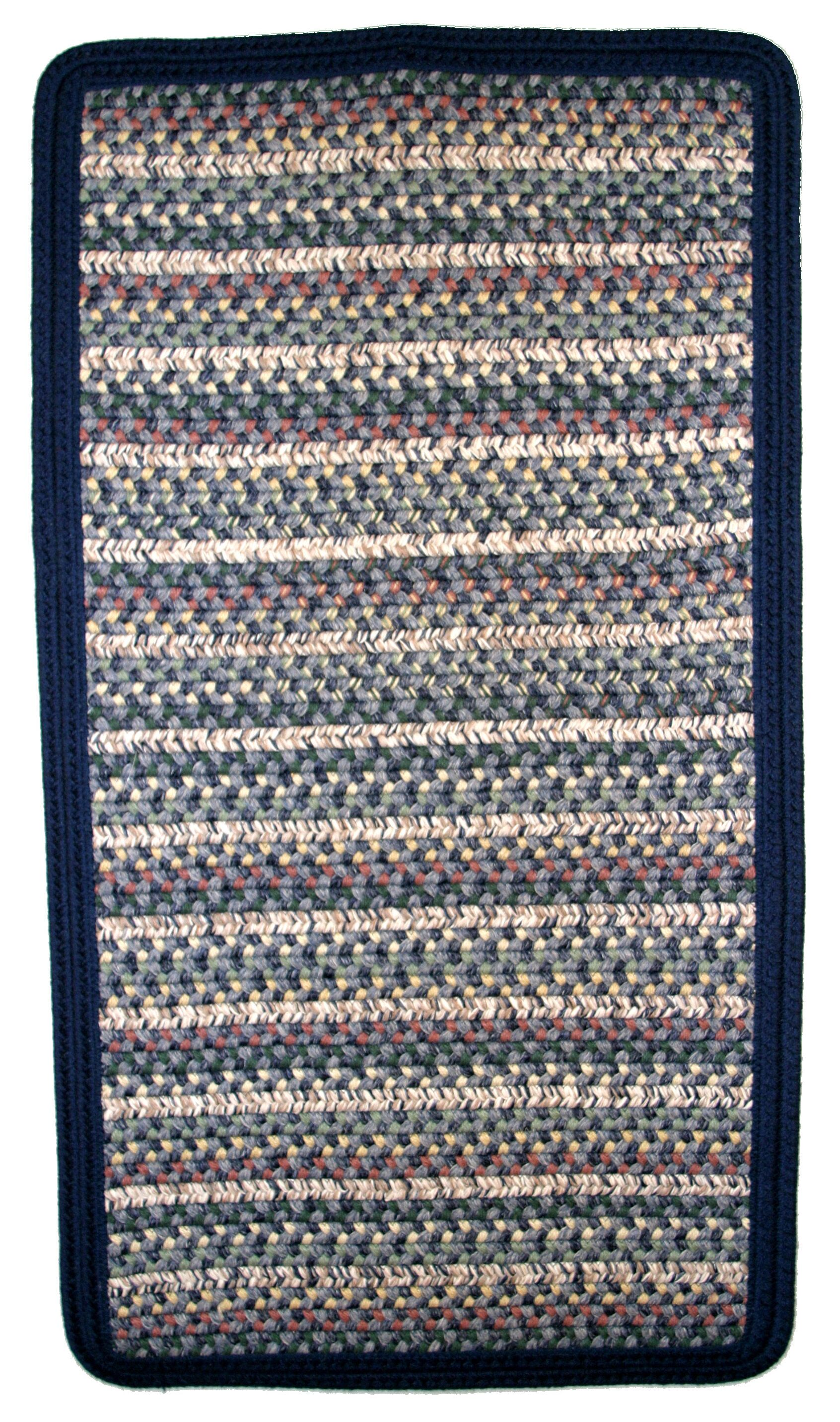 Beantown Boston Harbor Blue/Green Area Rug Rug Size: Square 8'