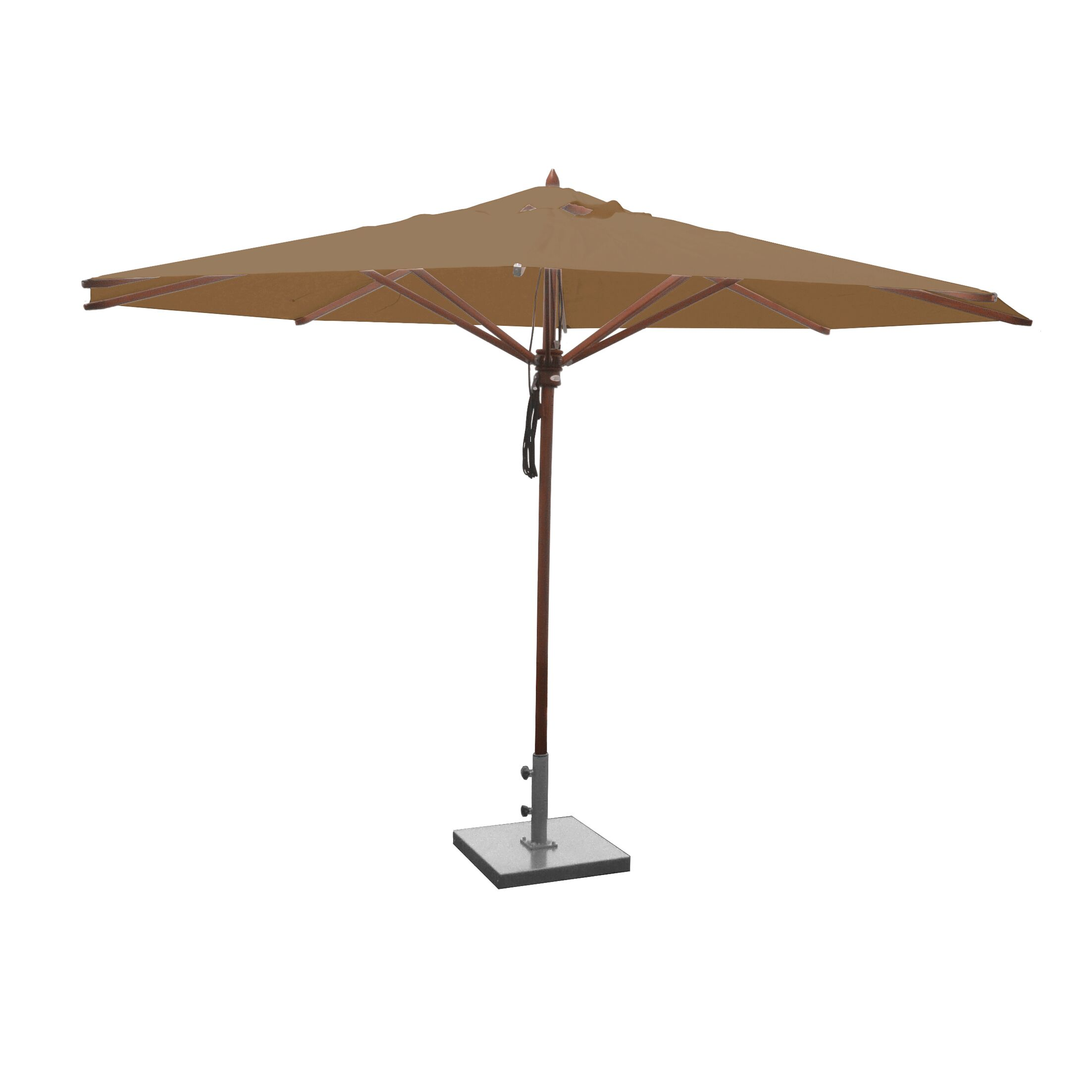 Samuel 13' Market Umbrella Fabric: Beige