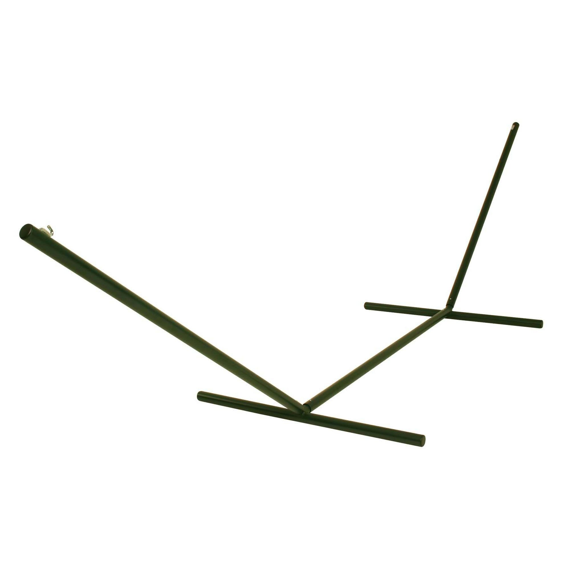 Edmundson Tri-Beam Steel Hammock Stand Color: Forest Green