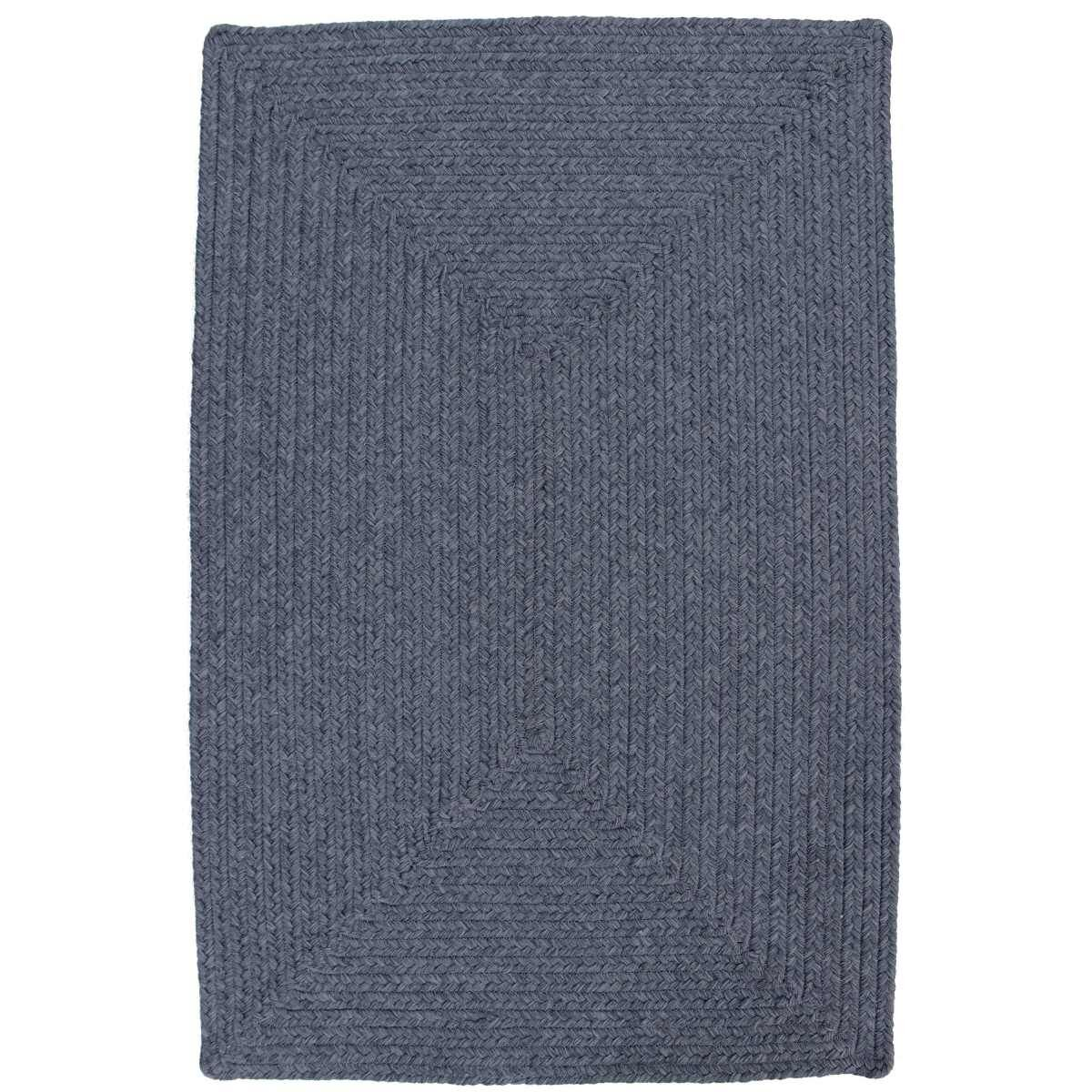 Azure Heather Blue Indoor/Outdoor Rug Rug Size: Oval Runner 2'6